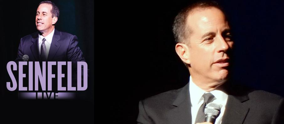 Jerry Seinfeld at Hanover Theatre for the Performing Arts