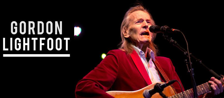 Gordon Lightfoot at Hanover Theatre for the Performing Arts