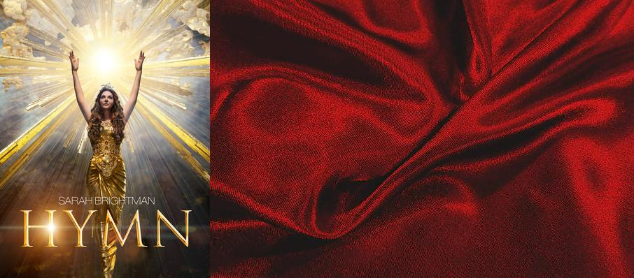 Sarah Brightman at Hanover Theatre for the Performing Arts