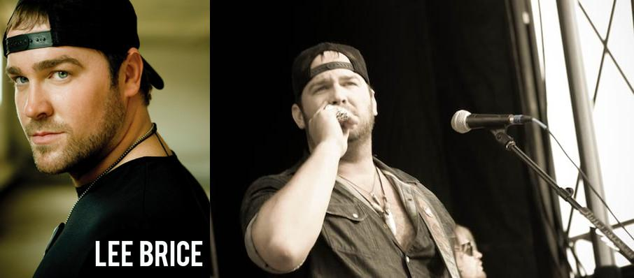 Lee Brice at Indian Ranch