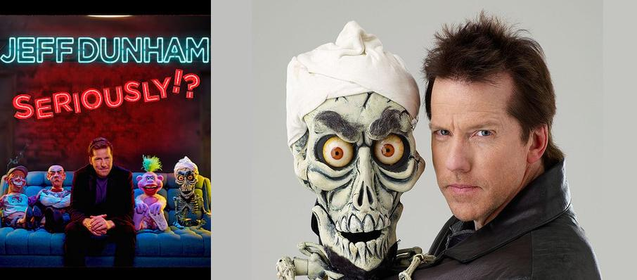 Jeff Dunham at DCU Center