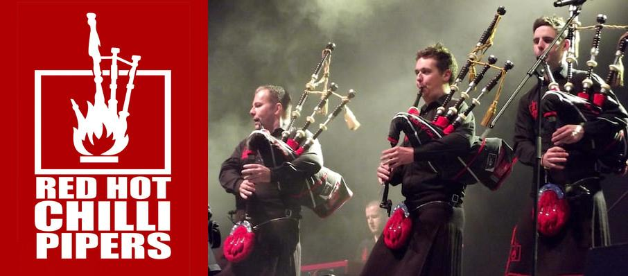 Red Hot Chilli Pipers at Hanover Theatre for the Performing Arts