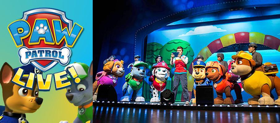 Paw Patrol at Hanover Theatre for the Performing Arts