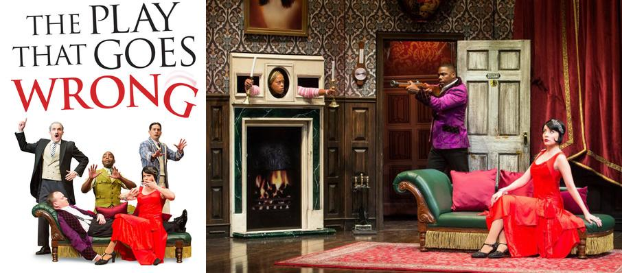 The Play That Goes Wrong at Hanover Theatre for the Performing Arts