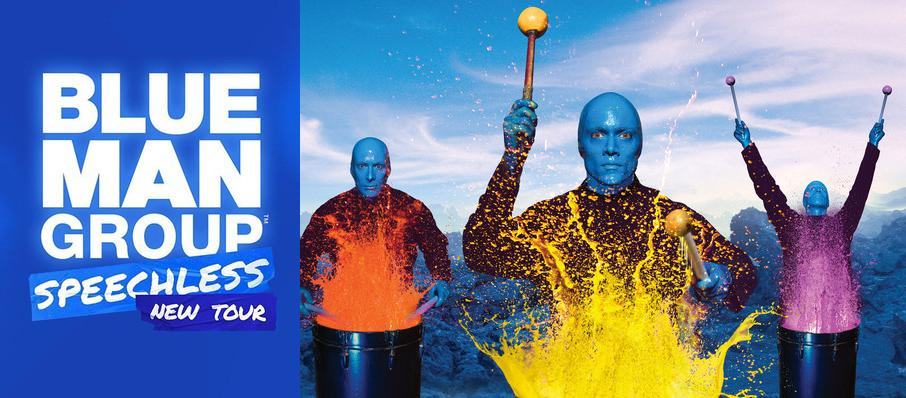 Blue Man Group at Hanover Theatre for the Performing Arts