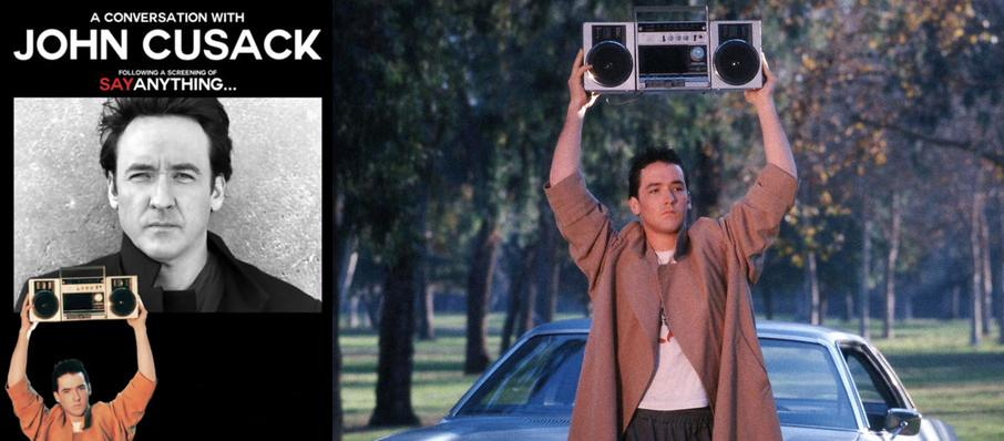 John Cusack at Hanover Theatre for the Performing Arts