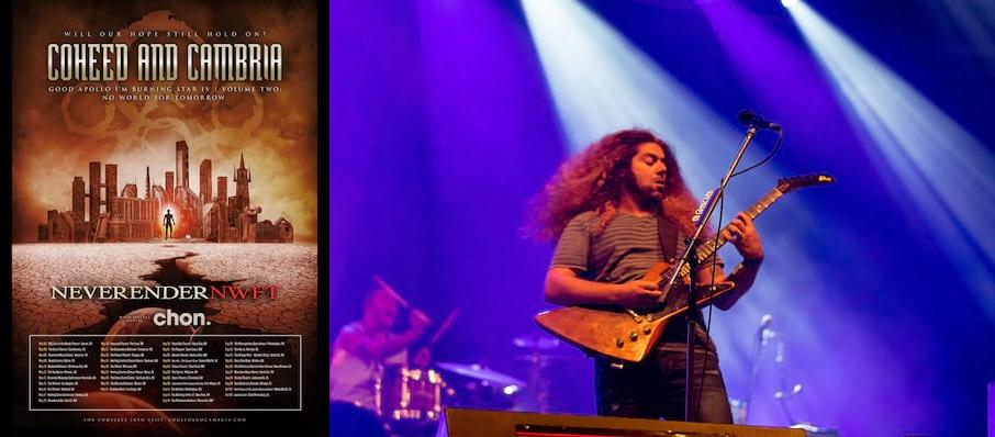 Coheed and Cambria at Worcester Palladium