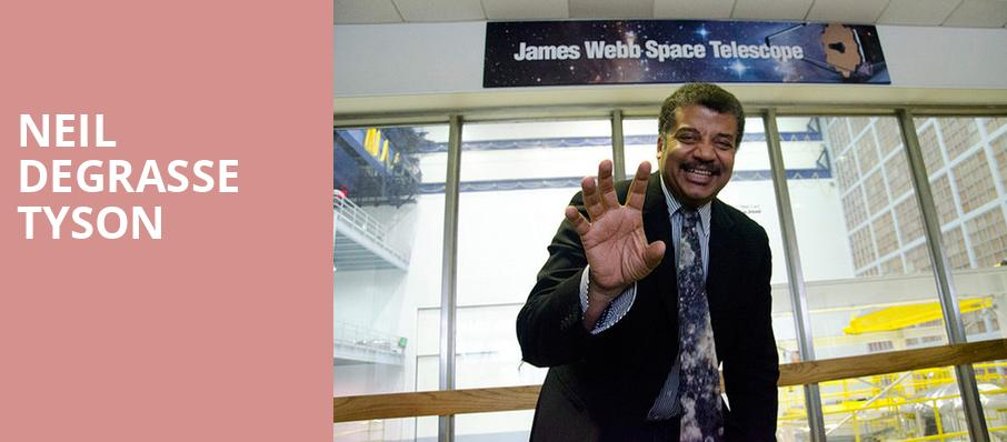 Neil DeGrasse Tyson, Hanover Theatre for the Performing Arts, Worcester