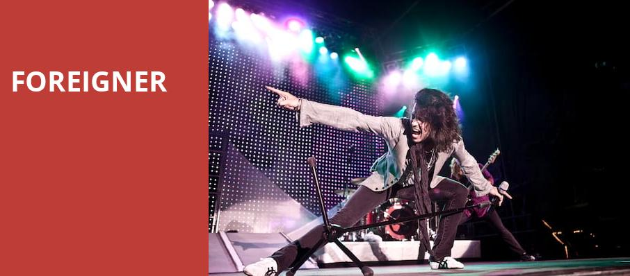 Foreigner, Hanover Theatre for the Performing Arts, Worcester