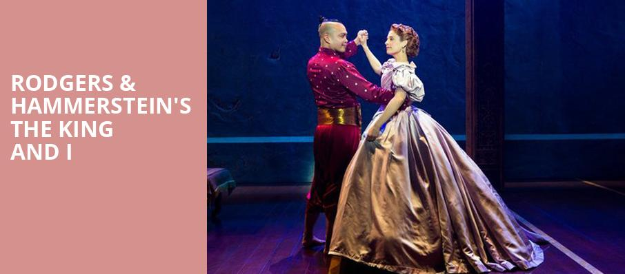 Rodgers Hammersteins The King and I, Hanover Theatre for the Performing Arts, Worcester