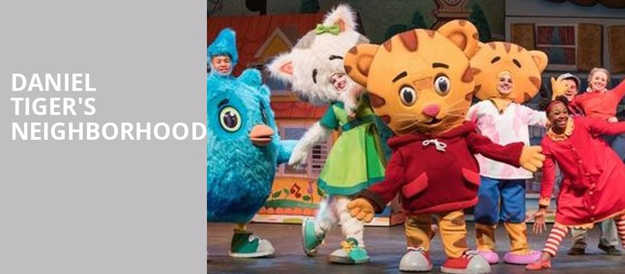 Daniel Tigers Neighborhood, Hanover Theatre for the Performing Arts, Worcester