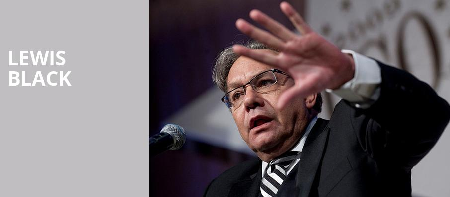 Lewis Black, Hanover Theatre for the Performing Arts, Worcester
